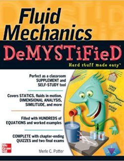 Fluid Mechanics DeMYSTiFied – Merle C. Potter – 1st Edition