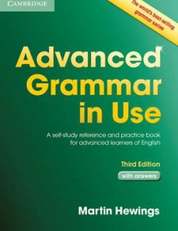 Cambridge Advanced Grammar in Use - Martin Hewings - 3rd Edition