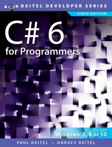 C# 6 for Programmers – Deitel & Deitel – 6th Edition