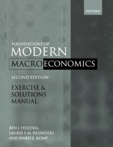 Foundations of Modern Macroeconomics – Ben J. Heijdra – 2nd Edition