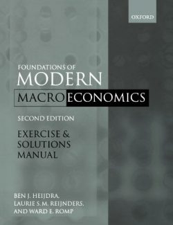 Foundations of Modern Macroeconomics - Ben J. Heijdra - 2nd Edition