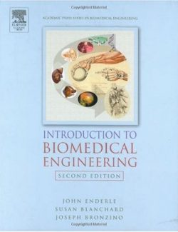 Introduction to Biomedical Engineering - John Enderle