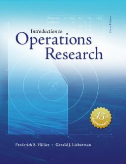 Introduction to Operations Research – Frederick S. Hillier, Gerald J. Lieberman – 10th Edition