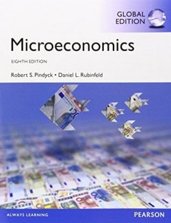 Microeconomics – R. Pindyck, D. Rubinfeld – 8th Edition