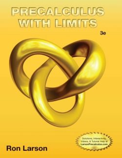 Precalculus with Limits – Ron Larson, Robert P. Hostetler – 3rd Edition