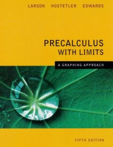 Precalculus with Limits – Ron Larson, Robert P. Hostetler – 5th Edition