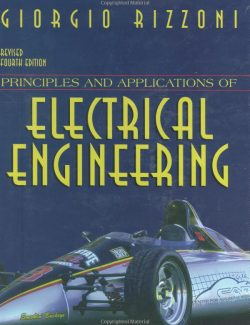 Principles and Applications of Electrical Engineering - Giorgio Rizzoni - 4th Edition