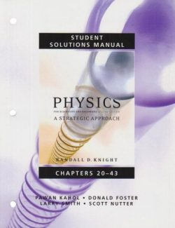 Physics for Scientists and Engineers Vol 2 – Randall D. Knight – 2nd Edition