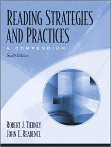 Reading Strategies and Practices – Robert J. Tierney, John E. Readence – 6th Edition