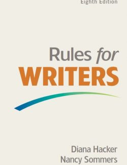 Rules for Writers - Diana Hacker - 8th Edition