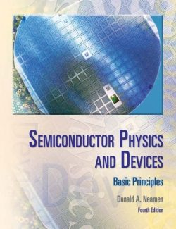 Semiconductor Physics And Devices – Donald A. Neamen – 4th Edition