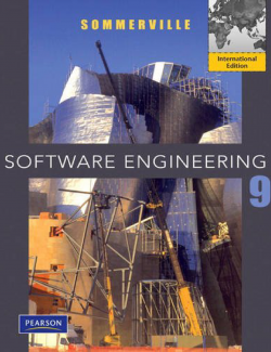 Software Engineering – Iam Sommerville – 9th Edition