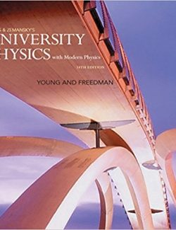 University Physics with Modern Physics – Sears, Zemansky´s – 14th Edition